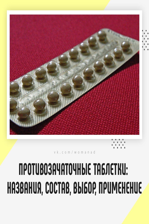 protivozachatochnye tabletki nazvaniya sostav vybor primenenie 1