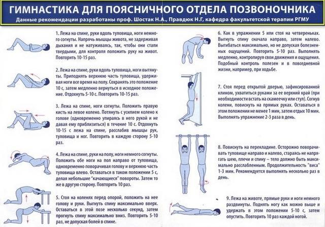 rekomendacii po lecheniju mezhpozvonochnoj gryzhi v domashnih usloviyah