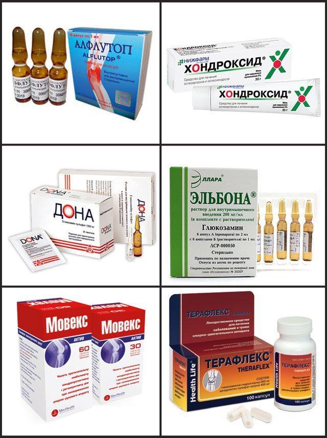 sovremennye lekarstvennye preparaty dlya lecheniya osteohondroza